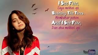 I See Fire - Ed Sheeran (Cover By Jasmine Thompson)(Lyrics and terjemahan indonesia)