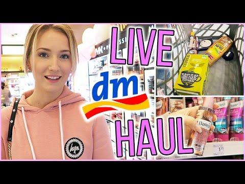 LIVE DM HAUL! DIE BESTEN PRODUKTE UNTER 3€ + VERLOSUNG - TheBeauty2go