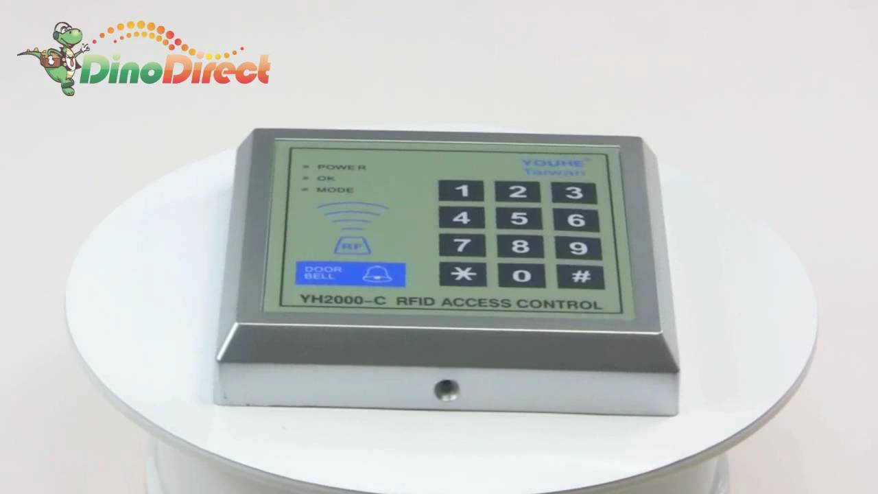 maxresdefault door proximity entry lock keypad access control system yh2000 c yh2000-c wiring diagram at alyssarenee.co