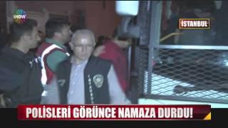 Polisleri Görünce Namaza Duran Hırsız