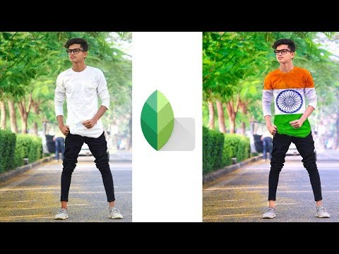 How To Change T-shirt in Snapseed | Republic Day Photo Editing | Snapseed Photo Editing | Snapseed