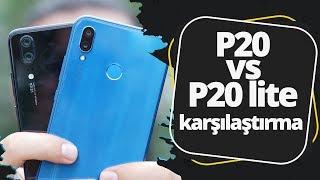 Huawei P20 Lite vs Huawei P20 - Abi kardeş karşı karşıya!