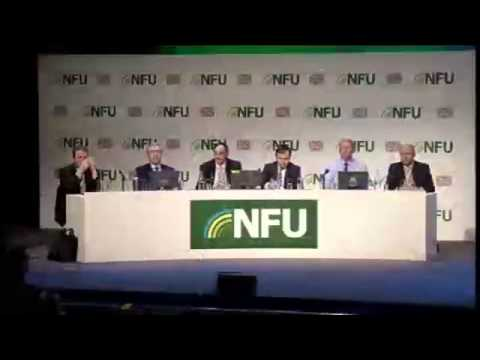 NFU14 watch again: Peter Kendall and George Eustice, Defra Parliamentary Under Secretary of State