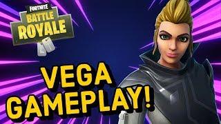 VEGA Skin Gameplay In Fortnite Battle Royale