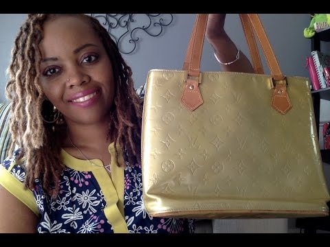 Whats in My Bag- Louis Vuittton Vernis Houston Tote