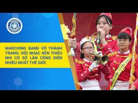 KylucRadio.vn| Đội nhạc kèn thiếu nhi Võ Thành Trang có số lần công diễn nhiều nhất thế giới