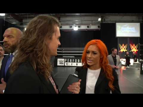 Becky Lynch Thanks WWE Universe For Main Show Match