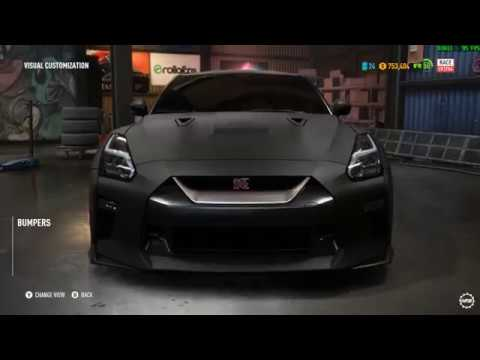 Need For Speed Payback - Nissan GT-R Premium - Buy, Drive, Customize, Performance Mods, and Race