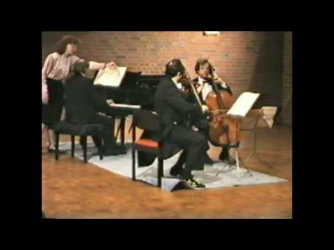 Mendelssohn Piano Trio n. 1 op. 49 I. Molto allegro e agitato (Marvulli, Gradow, Grosgurin)