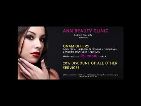 Ann Beauty Clinic - Our onam offers and photos