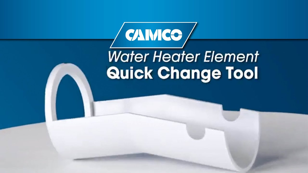 Water Heater Element Change With No Mess And No Draining Youtube