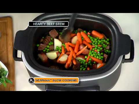 ninja kitchen island chairs with backs cooking system: hearty beef stew recipe - youtube