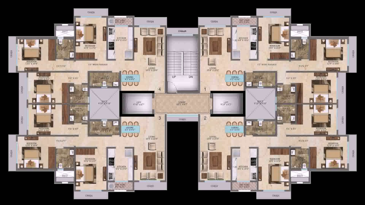 Hotel Ground Floor Plan+Pdf