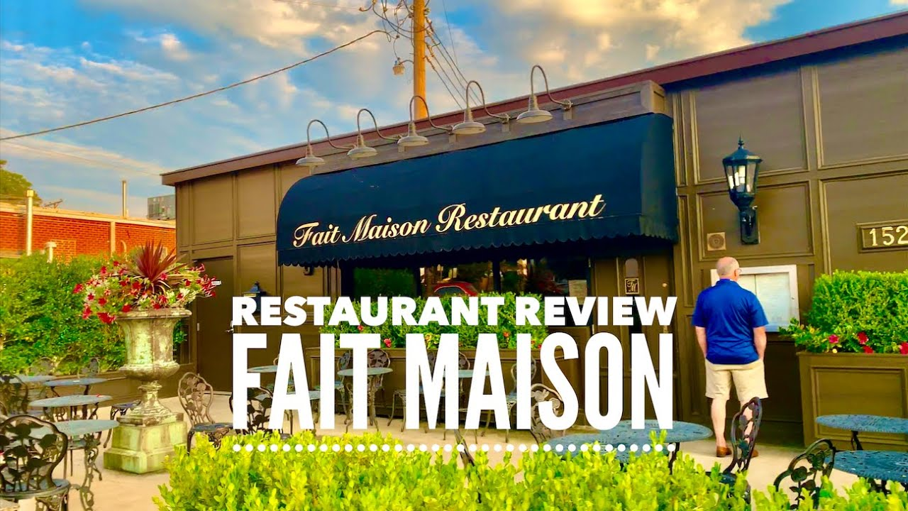 Best Restaurant in OKC - Fait Maison - Edmond Restaurant Review - Vlog 005