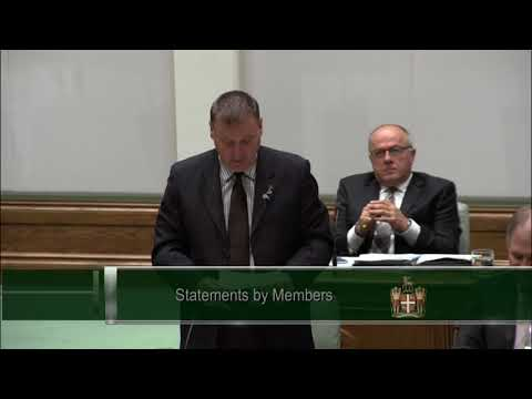 Member for Conception Bay East-Bell Island - Mr. David Brazil - October 17 2017