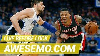 DraftKings & FanDuel NBA DFS Live Before Lock - Tue 12/11 - Awesemo.com