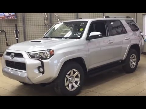 2016 Toyota 4runner Trail Edition Review Youtube