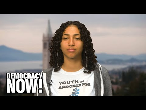 Teen Climate Activist to Sen. Dianne Feinstein: We Need the Green New Deal to Prevent the Apocalypse