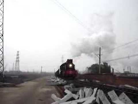 Steam Engine in Pingdingshan China 6