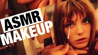 АСМР МАКИЯЖ И РАСЧЕСЫВАНИЕ ЖУРНАЛА БЛИЗКИЙ ШЕПОТ ASMR Applying makeup to magazines Hair brushing