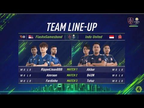 FlashxGamesbond vs Indo United - Vòng Bảng Ngày 1 [EACC Spring 2019]
