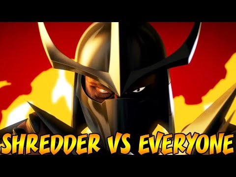 SHREDDER VS ALL - TMNT Legends PVP Gameplay