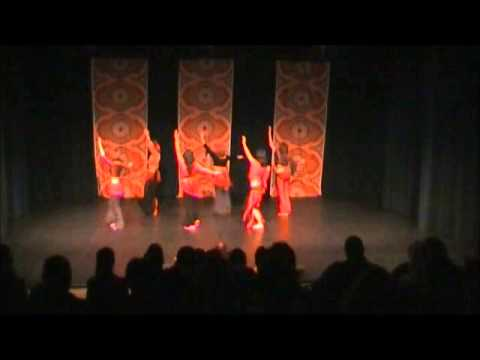 BellyUpBellyDance - Latin Spice Bellydance Class with Laura - Student Recital