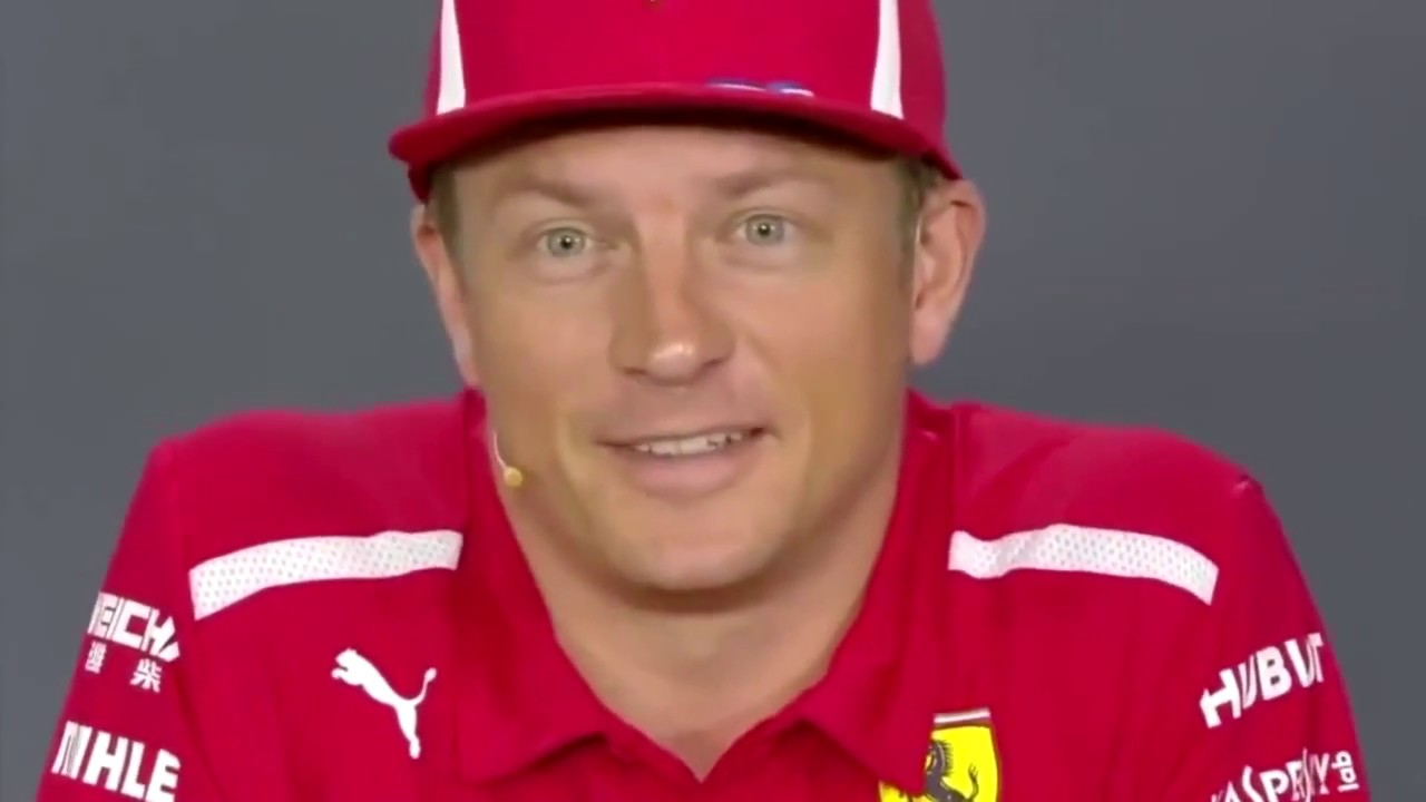 Kimi Räikkönen Funniest Press Conference Moments