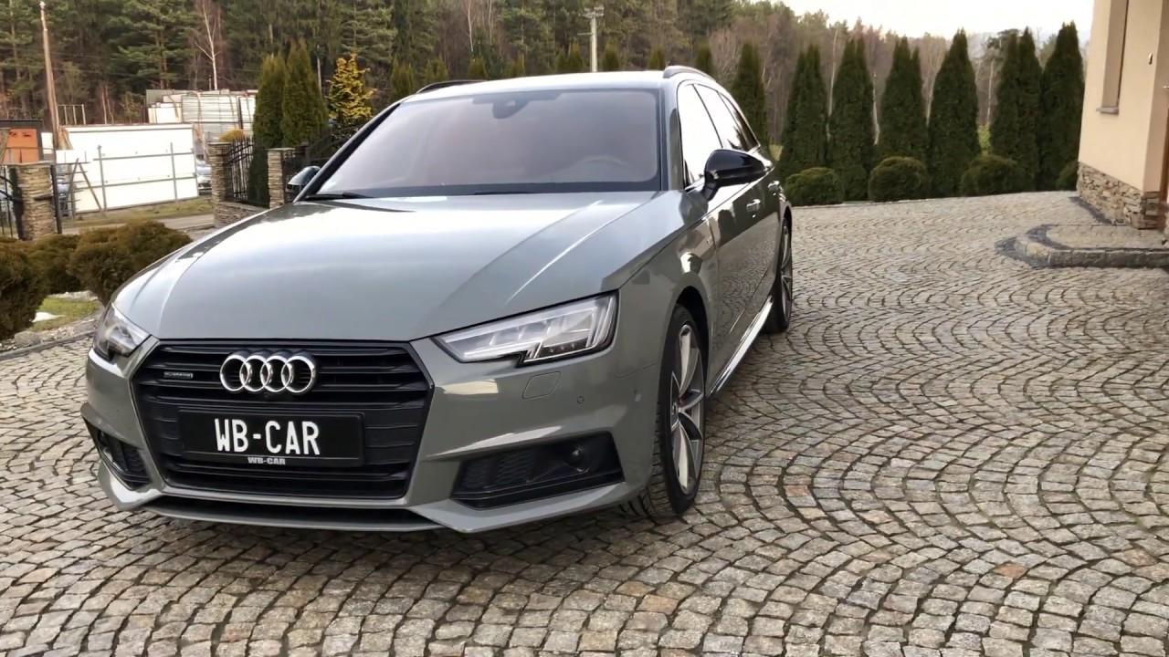 Audi A4 B9 Quattro 190km S Line Carbon Quantum Gray Headup S Line Matrix Virtual Bang Olufsen Hak Youtube