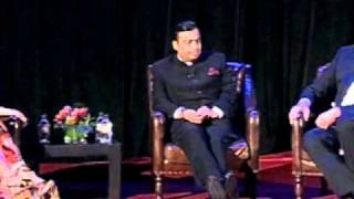 Mukesh Ambani and Jeffrey Immelt at Asia Society