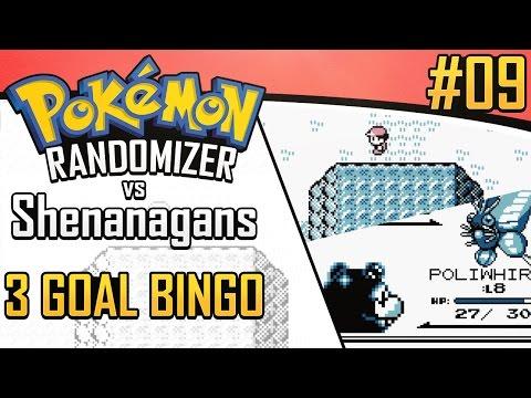 Pokemon Randomizer 3 Goal Bingo vs Shenanagans #9