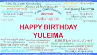 Yuleima   Languages Idiomas - Happy Birthday