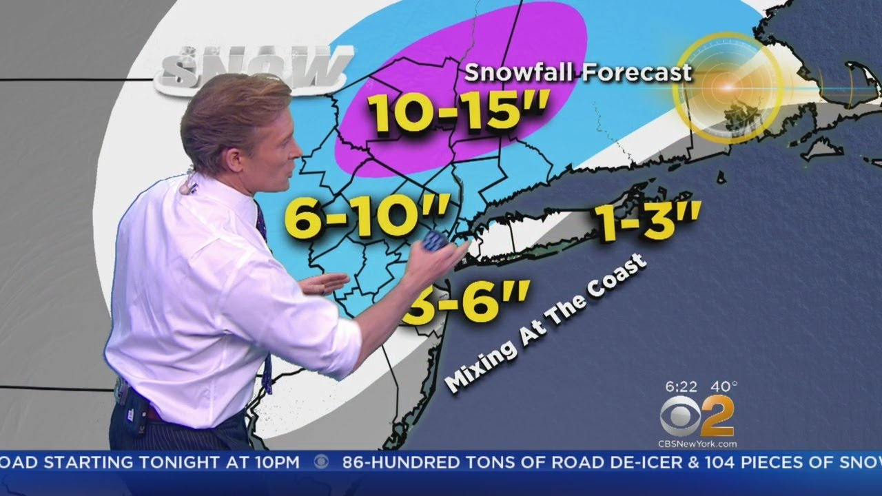 NYC nor'easter: the latest news on this week's winter storm