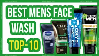 Top 10: Best mens face wash for oily skin in India