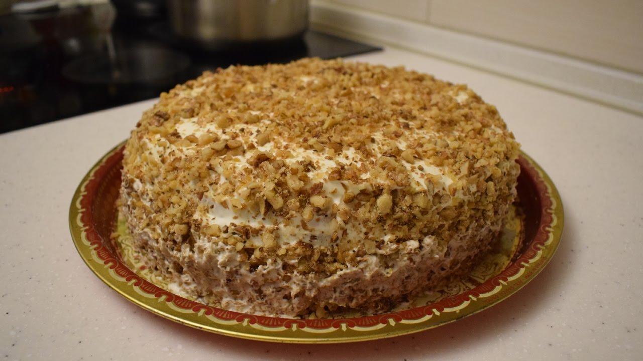 Сметанный торт (Торт сметанник) / Обалденный рецепт ...