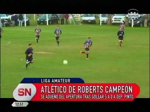 ATLETICO DE ROBERTS CAMPEON