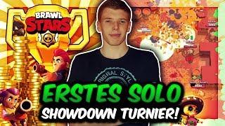 ERSTES SOLO SHOWDOWN TURNIER! | 100 SPIELER - EIN SIEGER! | 50€ PREISGELD! | Brawl Stars Deutsch