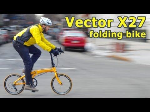 Dahon Vector X27h Folding Bike