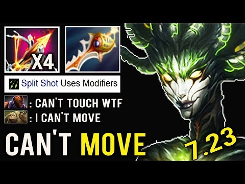 NEW CRAZY ITEM All Team Knockback Can't Move Ballista Medusa Rapier Throne Defense vs AM Dota 2