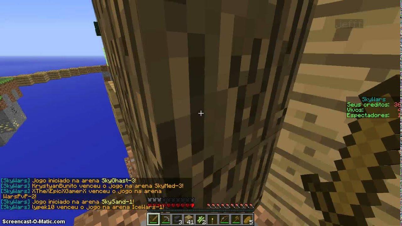Sky Wars no server craftwar (1.5.2) -minecraft- - YouTube
