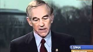 Ron Paul in 2003: Litmus Test for War