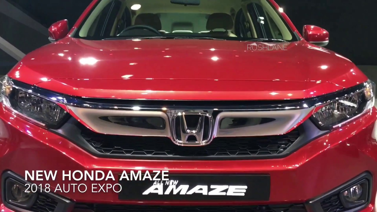 New Honda Amaze Walkaround Exteriors Interiors Hd Youtube