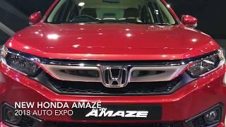 New Honda Amaze Walkaround, Exteriors, Interiors HD