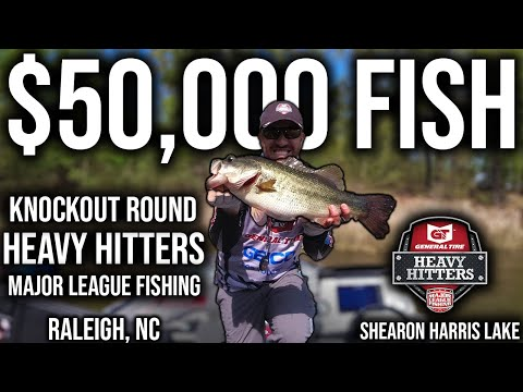 1 Cast = $50,000!!! Major League Fishing Heavy Hitters Knockout Round