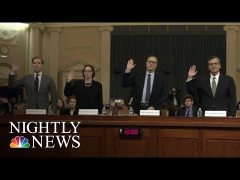 Legal Scholars Testify Trump Has Committed Impeachable Offenses (NBC News)