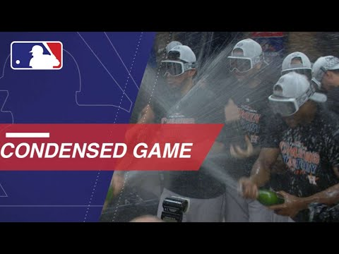 MLB playoffs: Houston Astros clobber Cleveland, advance to ALCS