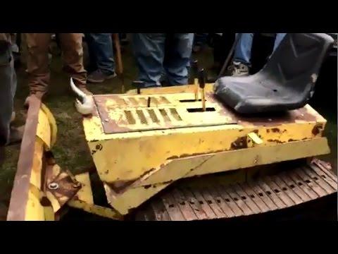 Struck Mini Dozer Sold on Pennsylvania Auction Yesterday