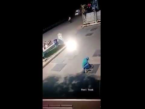 Gas Station Worker Run Over by Incredibly Dumb Female Driver