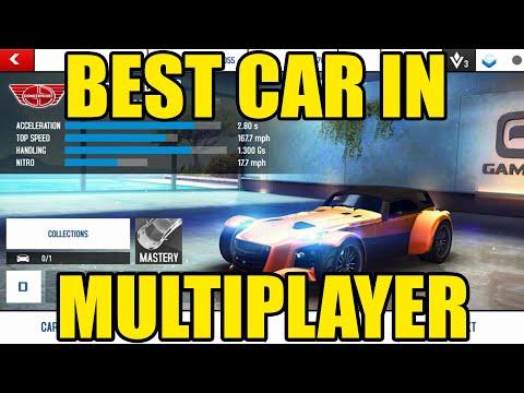 Best Multiplayer Car In Asphalt 8 - Donkervoort D8 GTO Review