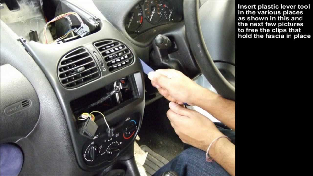 peugeot 206 (2004) integration kit: installation guide - youtube